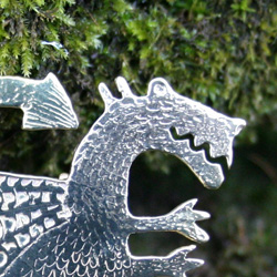 Dragons , lizards and frog jewellery