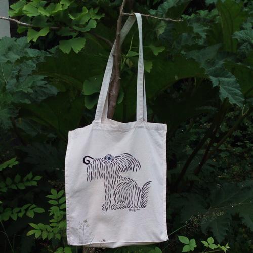 hairy dog bag