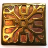 Saxon square brooch