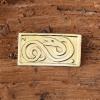 Celtic snake brooch