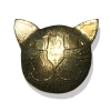 cat face brooch, small
