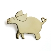 Small pig brooch