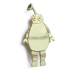 antenna robot brooch