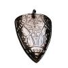 bronze triangular pendant
