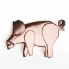 Big pig brooch