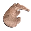 Badger pendant or brooch