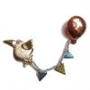 bird and balloon brooch