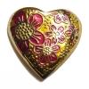 Blossom heart brooch